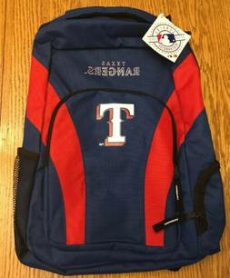 MLB Genuine Merchandise Texas Rangers Backpack, Book Bag  NW