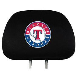 MLB Head Rest Cover Team: Texas Rangers
