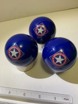 MLB Imperial Texas Rangers Pool Billiard Balls- Set Of 3- BL
