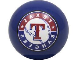 MLB Imperial Texas Rangers Pool Billiard Cue/8 Ball - Blue