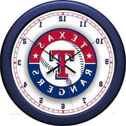 """MLB Texas Rangers 10""""  Wall Clock"""