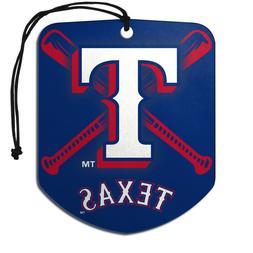 Team ProMark MLB Texas Rangers 2-Pack Air Freshener 2-4 Day
