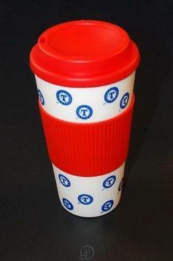 MLB Texas Rangers Baseball 16 Oz Plastic Tumbler Travel Cup