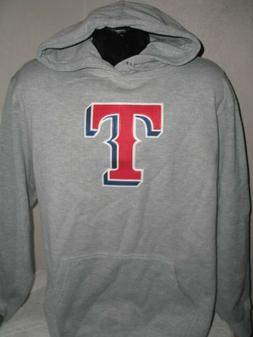 MLB Texas Rangers Baseball Applique Logo Hoody Sweatshirt Ho