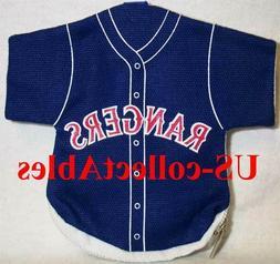 MLB Texas Rangers Baseball Jersey Money Pouch Souvenir Sport