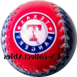 MLB Texas Rangers Baseball Logo Keychain Rare Sports Collect