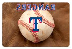 MLB Texas Rangers Baseball Pet Mat