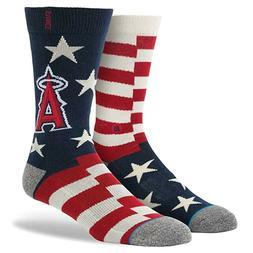 STANCE MLB Texas Rangers Brigade Crew Socks Youth sz L Large
