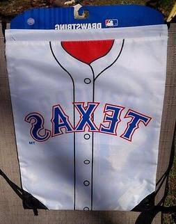 MLB TEXAS RANGERS DARVISH #11 DRAWSTRING BACKPACK LAUNDRY BA
