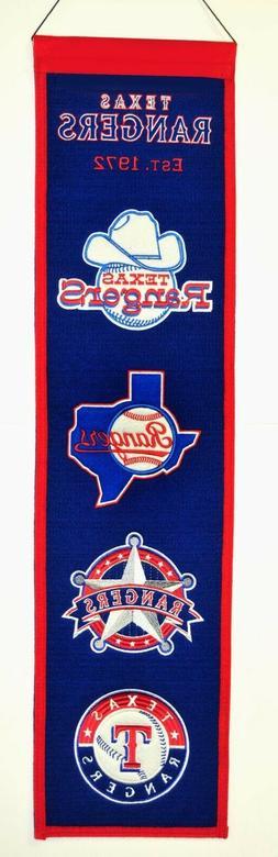 MLB Texas Rangers Heritage Banner