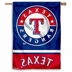 MLB Texas Rangers House Flag and Banner