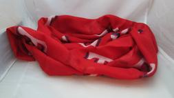 MLB Texas Rangers SGA Ladies Infinity Scarf - Red with Logo