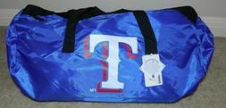 FOREVER COLLECTIBLES MLB Texas Rangers Logo Duffle Bag ~ NWT