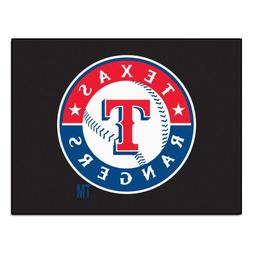 FANMATS MLB Texas Rangers Nylon Face All-Star Rug