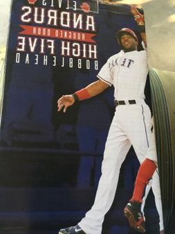 MLB Texas Rangers Odor & Andrus Bobbleheads 2017 SGA NIB Hig