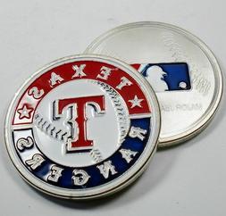 MLB Texas Rangers Poker Chip Card Guard Challenge Coin Golf