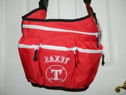 DIAPER DUDE MLB TEXAS RANGERS Red Messenger DIAPER BAG* NWT