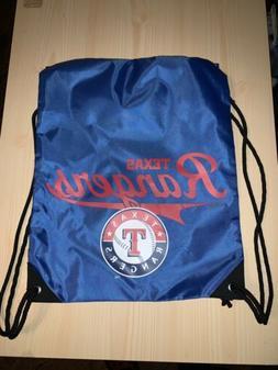 Northwest MLB Texas Rangers Team Spirit Back Sack Drawstring