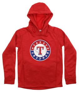 Gen 2 MLB Youth Texas Rangers Performance Fleece Primary Log