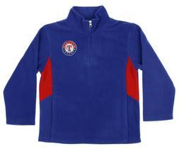 Outerstuff MLB Youth Texas Rangers Team Pride 1/4 Zip Fleece