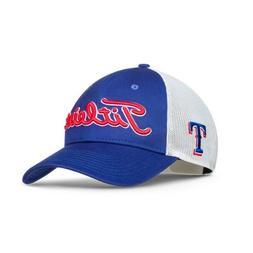 New 2017 Titleist Golf MLB Twill Mesh Hat Adj. Texas Rangers