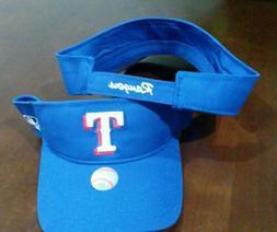 New Adult MLB Texas Rangers Sun Visor Cap Hat -PMJS