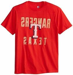NEW Genuine MLB Texas Rangers Weathered Athletic Shirt Large