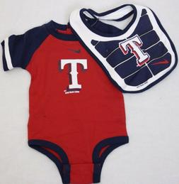 NEW Infant Toddler Boys NIKE Texas RANGERS One Piece MLB Cat