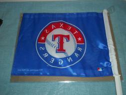 NEW MLB TEXAS RANGERS 11X14 2 Sided Car Flag