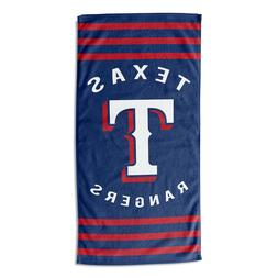 "New MLB Texas Rangers Beach Towel Bath 30'' x 60"" Licensed"