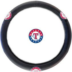 New MLB Texas Rangers Car Truck Suv Synthetic Leather Steeri