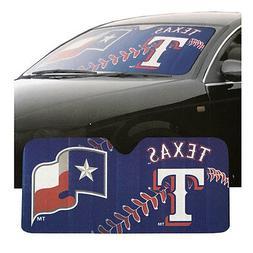 New MLB Texas Rangers Car Truck Windshield Folding SunShade