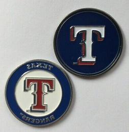 NEW MLB Texas Rangers Golf Ball Marker