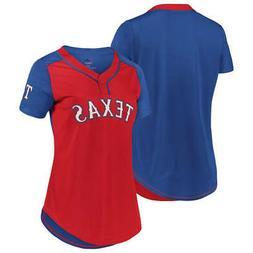 New MLB Texas Rangers Majestic Women's Cool Base T-Shirt –