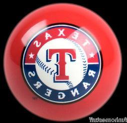 NEW RED TEXAS RANGERS MLB TEAM BILLIARD GAME POOL TABLE REPL