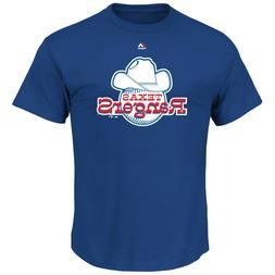 New Texas Rangers Baseball Old School logo Cooperstown T-Shi
