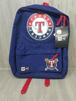 NEW! New Era Texas Rangers Heritage Patch Stadium Backpack R