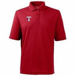 New Texas Rangers MLB Baseball Antigua polo golf shirt Red c