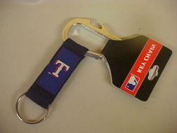 New TEXAS RANGERS MLB Bottle Opener Carabiner Keychain