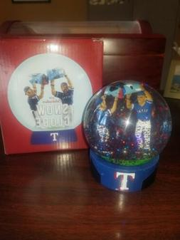 NEW TEXAS RANGERS SGA Snow Globe 7-20-18 Featuring The Water