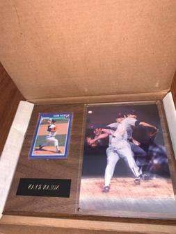 Nolan Ryan 1991 Score Card Texas Rangers MLB, Photo, & Plaqu