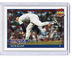nolan ryan texas rangers 1991 topps card