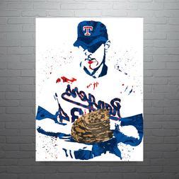 Nolan Ryan Texas Rangers Poster FREE US SHIPPING