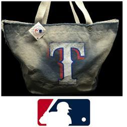 NWT Texas Rangers MLB Vintage Tote Bag Satchel Duffel Pro-Fa