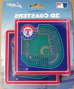 official mlb merchandise texas rangers 3d coaster
