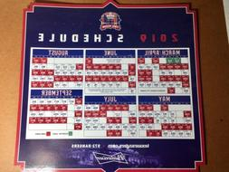 One Texas Rangers 2019 Opening Day Magnetic Schedules SGA