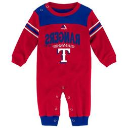 OuterStuff MLB Infants Texas Rangers Second Base Coverall