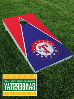 Premium Vinyl Decal Wraps  for Cornhole Bags Game- Texas Ran