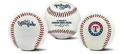Rawlings Texas Rangers Team Logo Manfred MLB Baseball Autogr