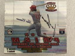 Signed JOSE CANSECO 1995 Pacific Prism Sealed Hobby Box 36 P